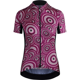 assos UMA GT SS Jersey Women camou midnight Purple